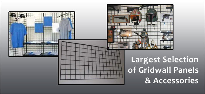 Kansas-City Gridwall - Panel & Accessories - Best Prices