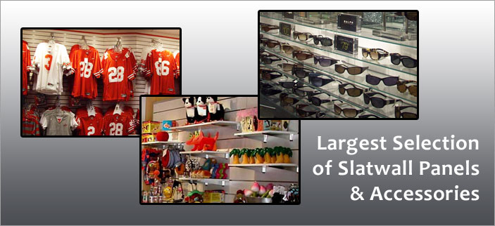 Kansas-City Slatwall - Panel & Accessories - Best Prices