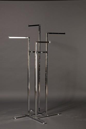4 Way Straight Arm Rack Retail Display Racks