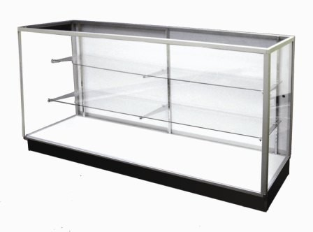 All Glass Display Case Glass Showcase For Sale